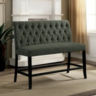 Sheehan Wood Upholstered Bench