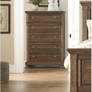 Charlton Home Rochon 5 Drawer Chest