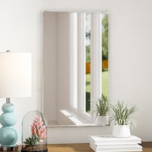 Great Price Hartness Rectangle Framed Wall Mirror By Symple Stuff