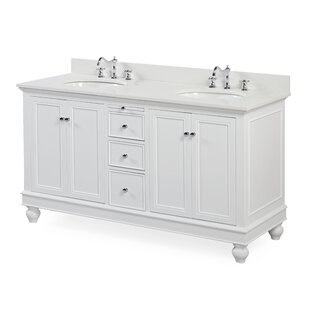 Inexpensive Bella 60 Double Bathroom Vanity Set By Kitchen Bath Collection