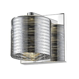 Orren Ellis Frank 1-Light LED Armed Sconce