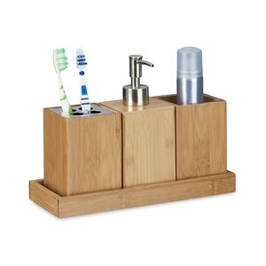 4 Piece Bathroom Accessory Set