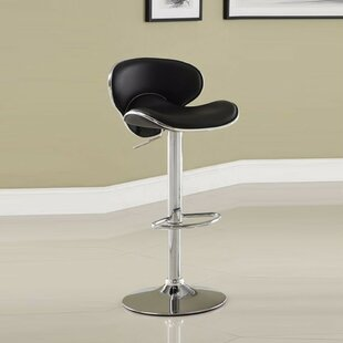 Kalicki Adjustable Height Swivel Bar Stool Orren Ellis