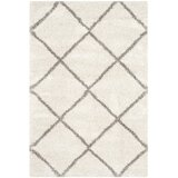 Philomena Looped/Hooked Ivory/Grey Rug