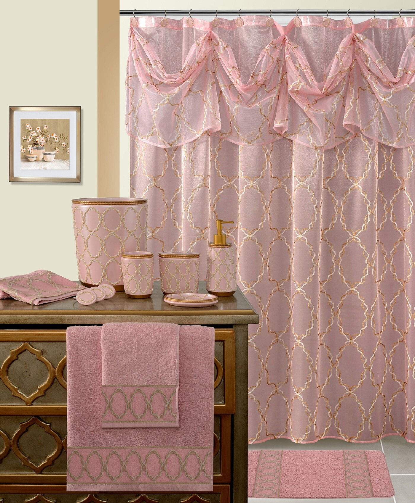 House Of Hampton Laverne Single Shower Curtain Reviews Wayfair