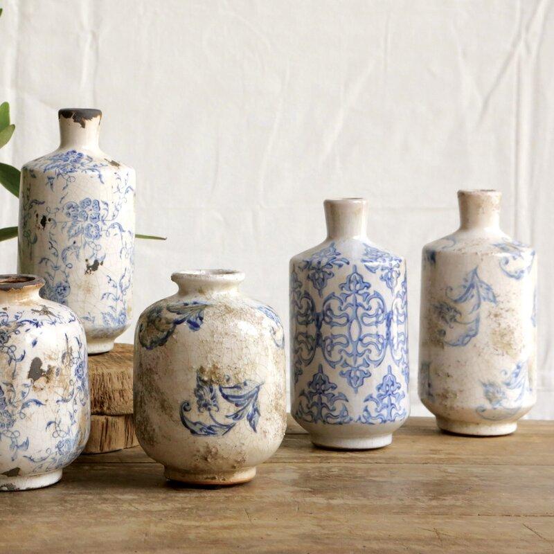 Birch Lane Bluestone Terracotta Vases Reviews Birch Lane