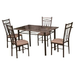 Branden 5 Piece Dining Set by Red Barrel Studio