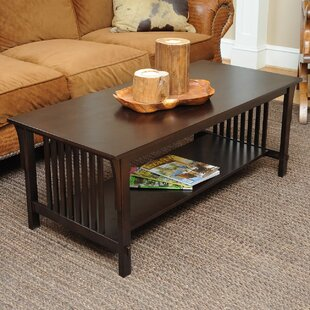 Bay Shore Mission Coffee Table by Wildon Home® New