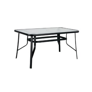 Metal And Glass Dining Table By Galileo