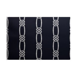 Hancock Navy Blue Indoor/Outdoor Area Rug