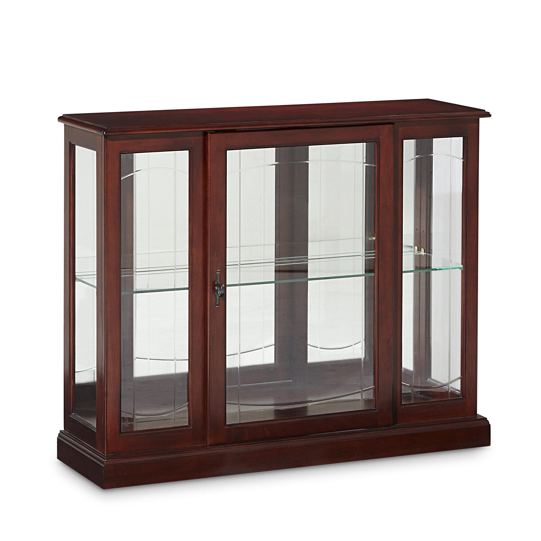 Purvoche Lighted Curio Cabinet