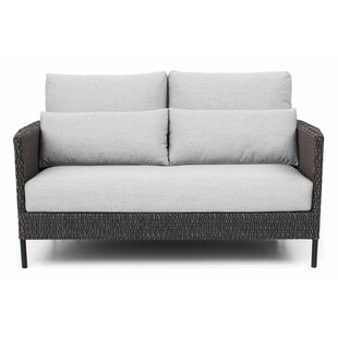 Precision Indoor/Outdoor Loveseat with Cushions by Seasonal Living