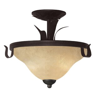 Braylen 3-Light Semi Flush Mount by Fleur De Lis Living