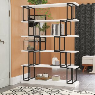 Sansbury Etagere Bookcase by Brayden Studio