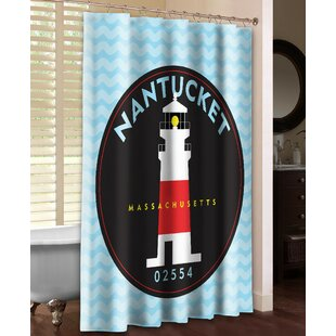 Nantucket Single Shower Curtain by Laural Home Today Sale Only