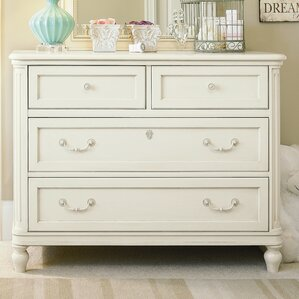 Chassidy 4 Drawer Single Dresser by Harriet Bee