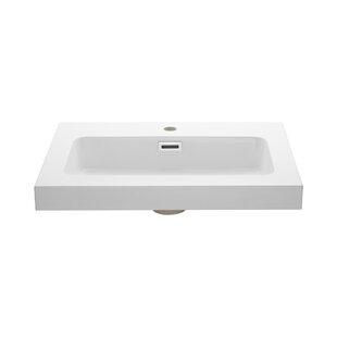 Ryvyr Rectangular Drop-In Bathroom Sink with Overflow