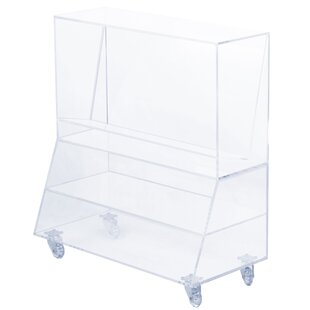 Reviews End Table with Storage by Symple Stuff