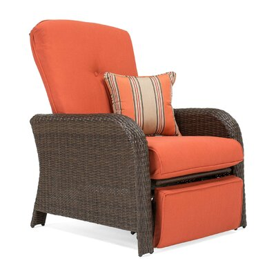 Magnificent Sawyer Recliner Patio Chair With Cushion La Z Boy Outdoor Caraccident5 Cool Chair Designs And Ideas Caraccident5Info