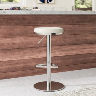 Heitor Adjustable Height Swivel Bar Stool