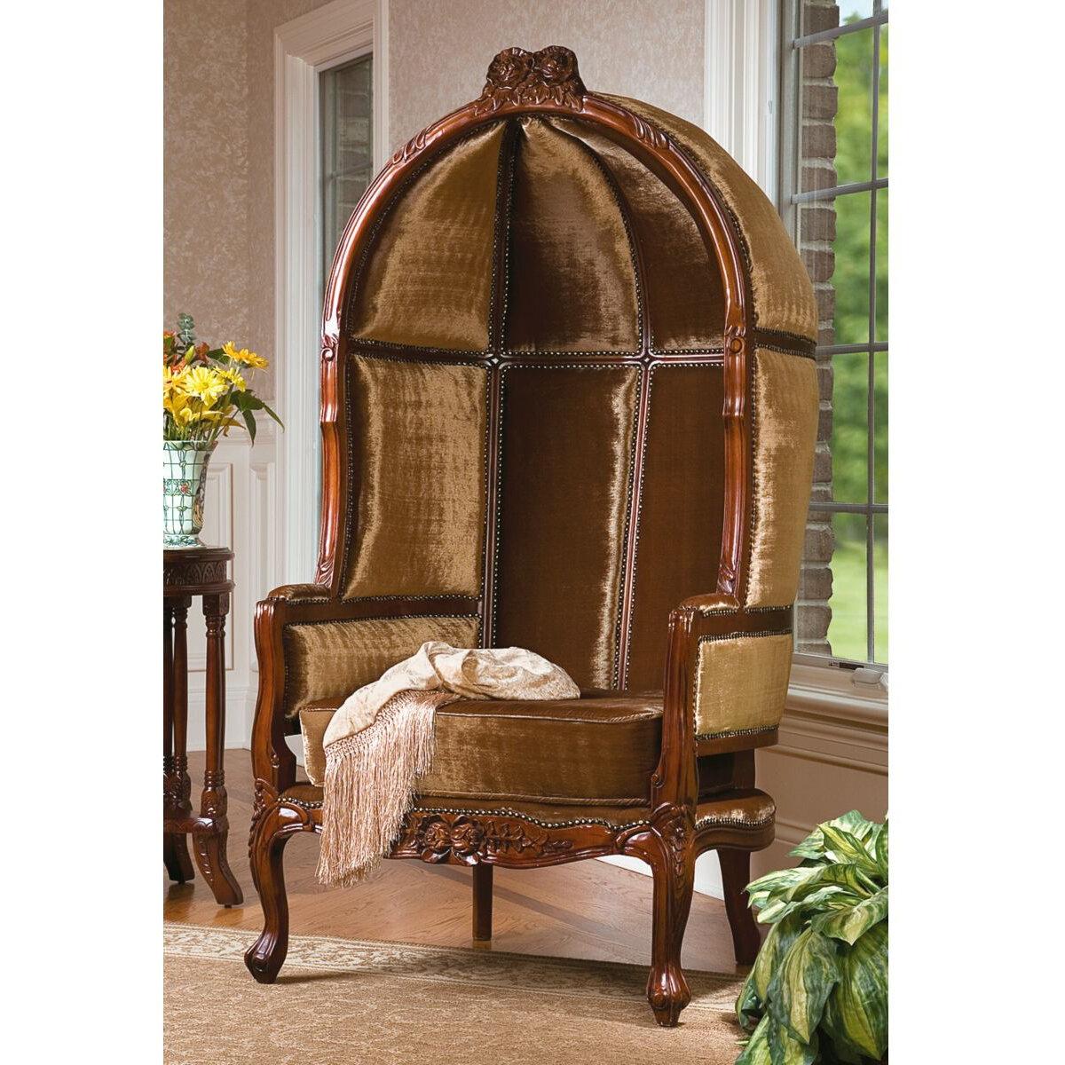 Genial Lady Alcott Victorian Balloon Fabric Balloon Chair. By Design Toscano