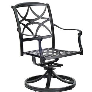 Woodard Wiltshire Swivel Rocking Patio Dining Chair