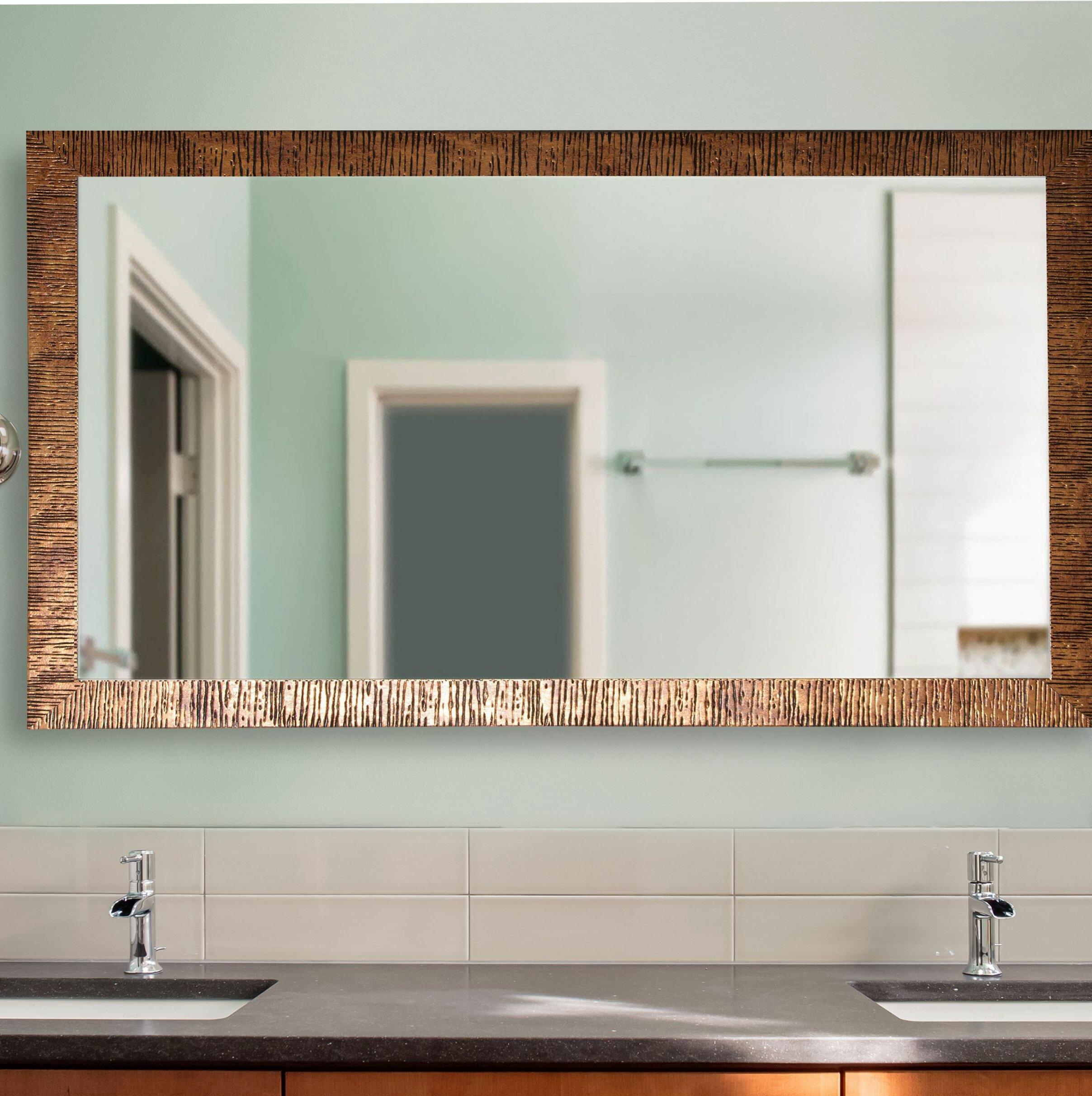 17 Stories Eisen Modern Contemporary Bathroom Vanity Mirror Reviews Wayfair