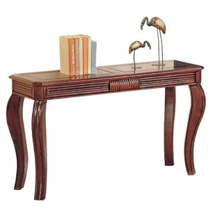 Blakeman Wooden Console Table By World Menagerie