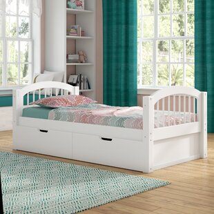 Isabelle Twin Platform Bed with Drawers