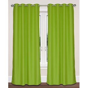 Twilight Solid Room Darkening Grommet Panel Pair (Set of 2)