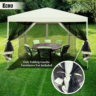 10 Ft. W x 10 Ft. D Steel Pop-Up Gazebo by Sunrise Outdoor LTD