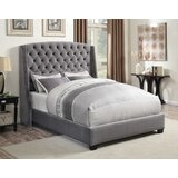 Ecklund Upholstered Standard Bed by August Grove®