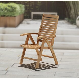 Teakwood Folding Patio Dining Chair