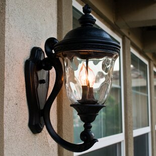Buy clear Islington 2-Light Outdoor Sconce By Astoria Grand