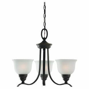 Darby Home Co Busti 3-Light Shaded Chandelier