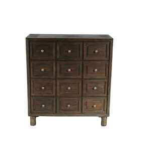Seigler 12 Drawer Chest