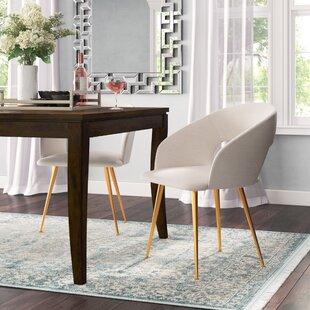 Maen Linen Blend Upholstered Side Chair b..