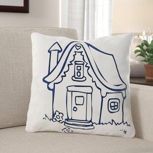 Dicken House Throw Pillow by Winston Porter