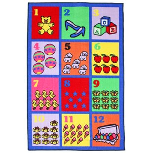 Juvenile Numbers Floor Mat By J and M Home Fashions