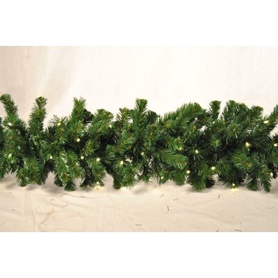Queens of Christmas Sequoia Garland Bulb Colour: Warm White