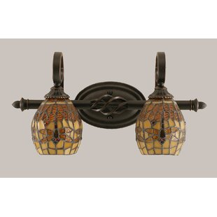 Astoria Grand Pierro 2-Light Vanity Light
