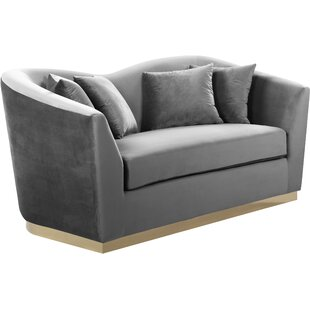 Bargain Truchanovicius Loveseat by Orren Ellis Reviews (2019) & Buyer's Guide