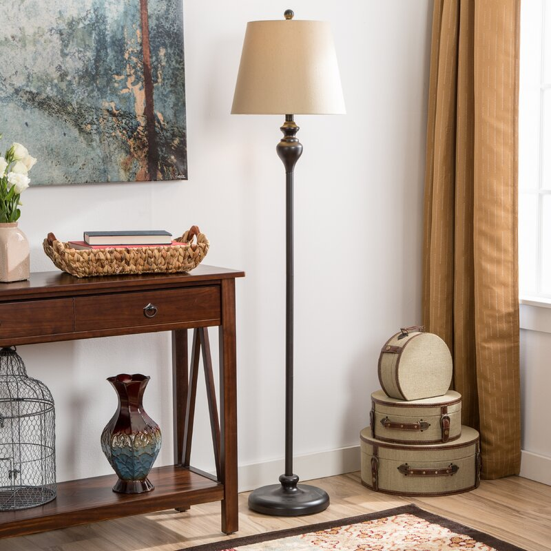 Peoria 3 Piece Table and Floor L& Set & Andover Mills Peoria 3 Piece Table and Floor Lamp Set u0026 Reviews ...