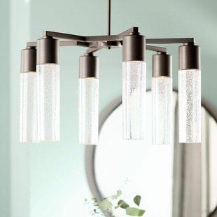 Grisham 6-Light Shaded Chandelier by Mercury Row