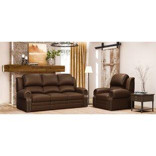 Leather Sofa Living Room Sets | Wayfair