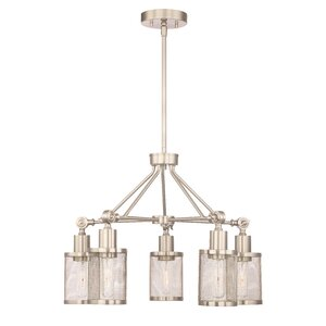 Junia 5-Light Candle-Style Chandelier