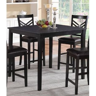 Winston Porter Cannella Counter Height Dining Table