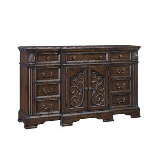 Corene 9 Drawer Combo Dresser