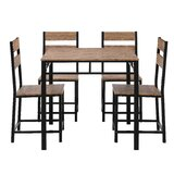 Fricke 5 - Piece Dining Set by 17 Stories