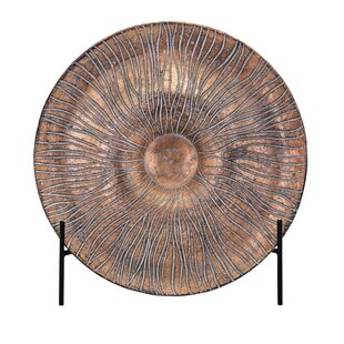 Mirabella Decorative Plate with Stand  sc 1 st  Wayfair & Decorative Plates With Stands | Wayfair